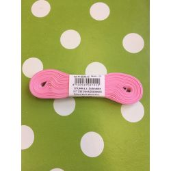 Taftová stuha růžová 6mm