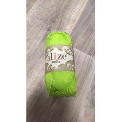 Háčkovací a pletací příze bella - zelenkavá