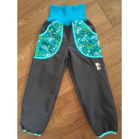 Softshellové kalhoty pro děti