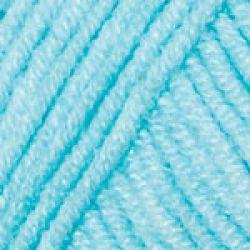 Háčkovací příze GINA (Jeans) - modrá
