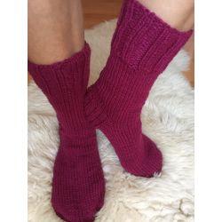 Ponožky vínová
