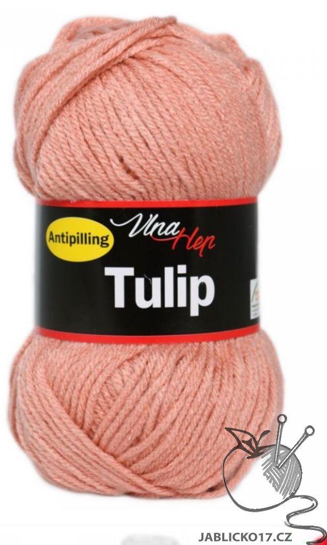 Tulip hnědo růžová