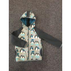 Softshellová bunda tučnák