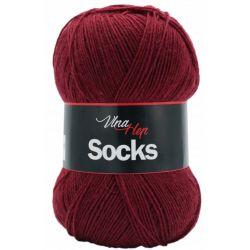 Socks vínová