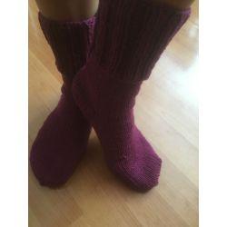 Ponožky šeříkové, fialová
