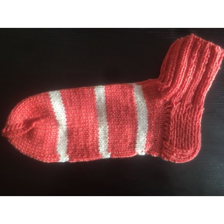 Kotníkové ponožky - šedo fialová