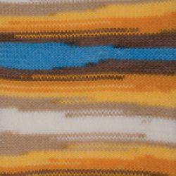 Dancing baby - modro hnědo bílo oranžová