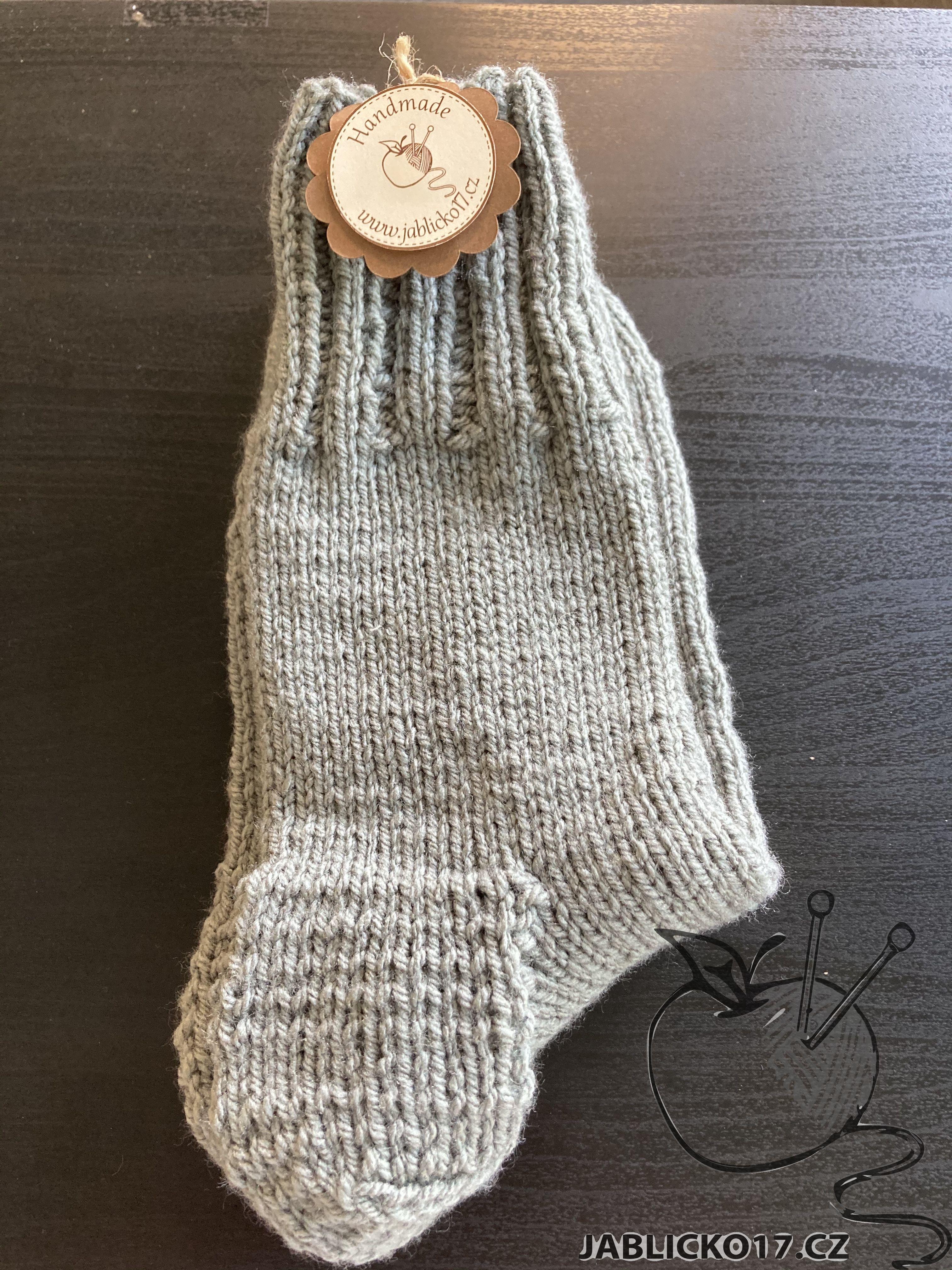 Ponožky švestková