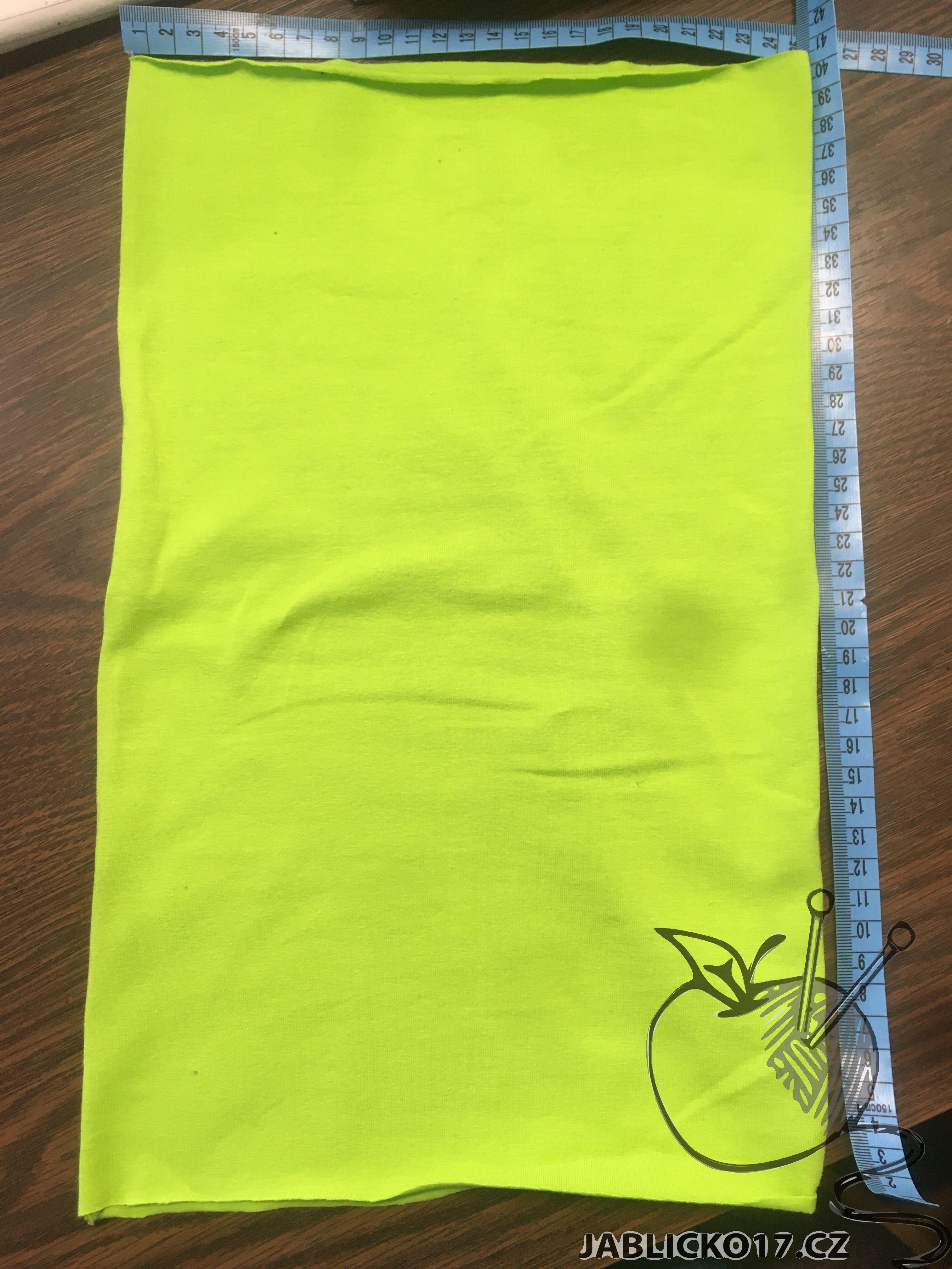 Nákrčník - zelený