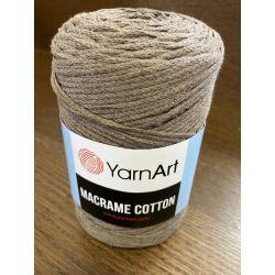 Macrame cotton hnědá