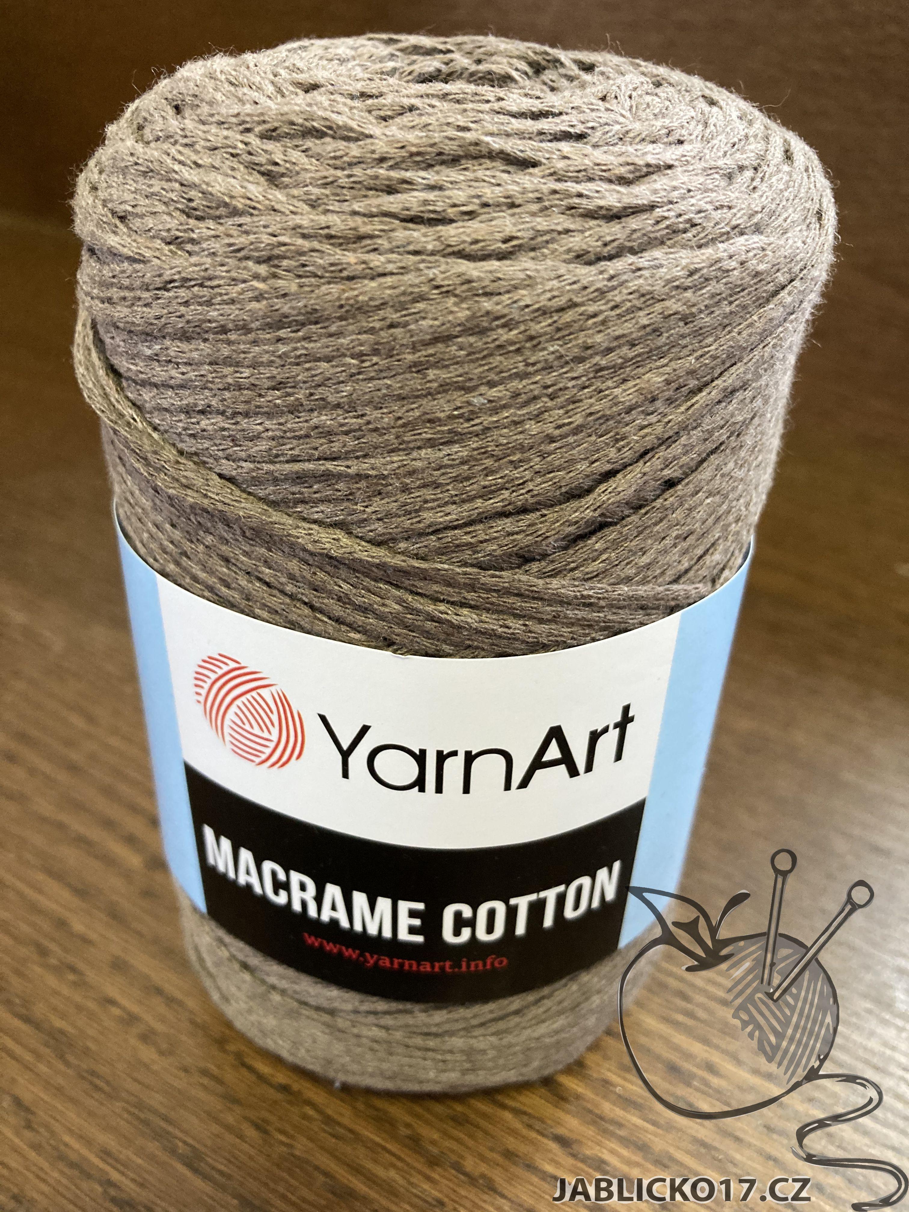 Macrame cotton písková