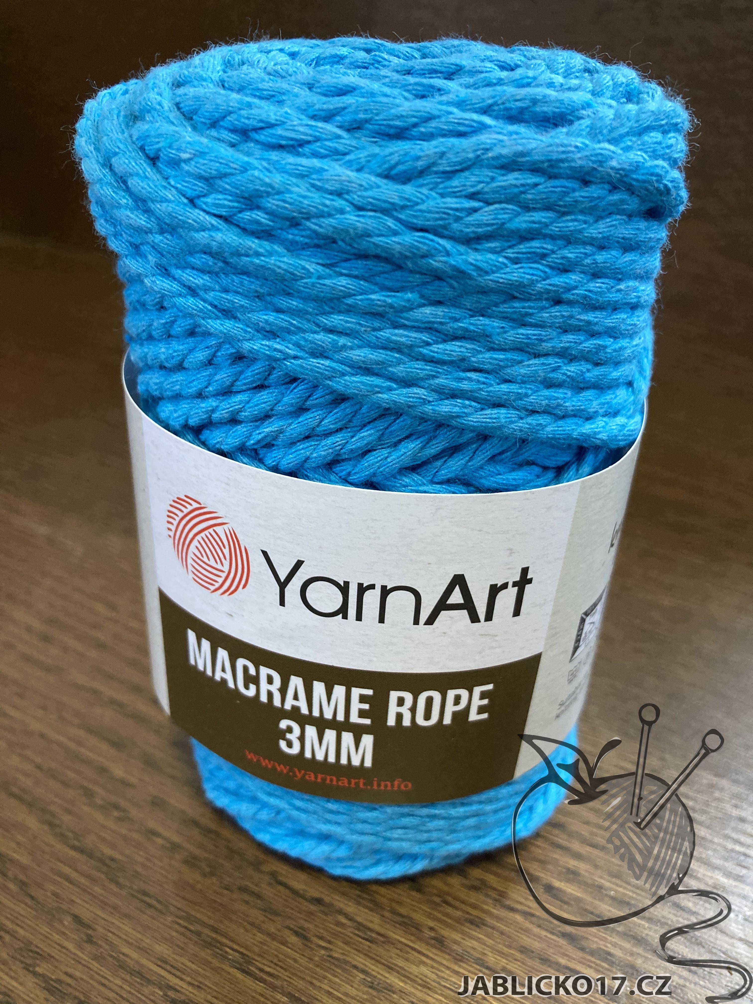 Macrame ROPE 3MM riflová