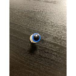 Bezpečnostní oko 8mm modrá