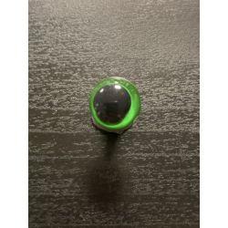 Bezpečnostní oko 12 mm zelená