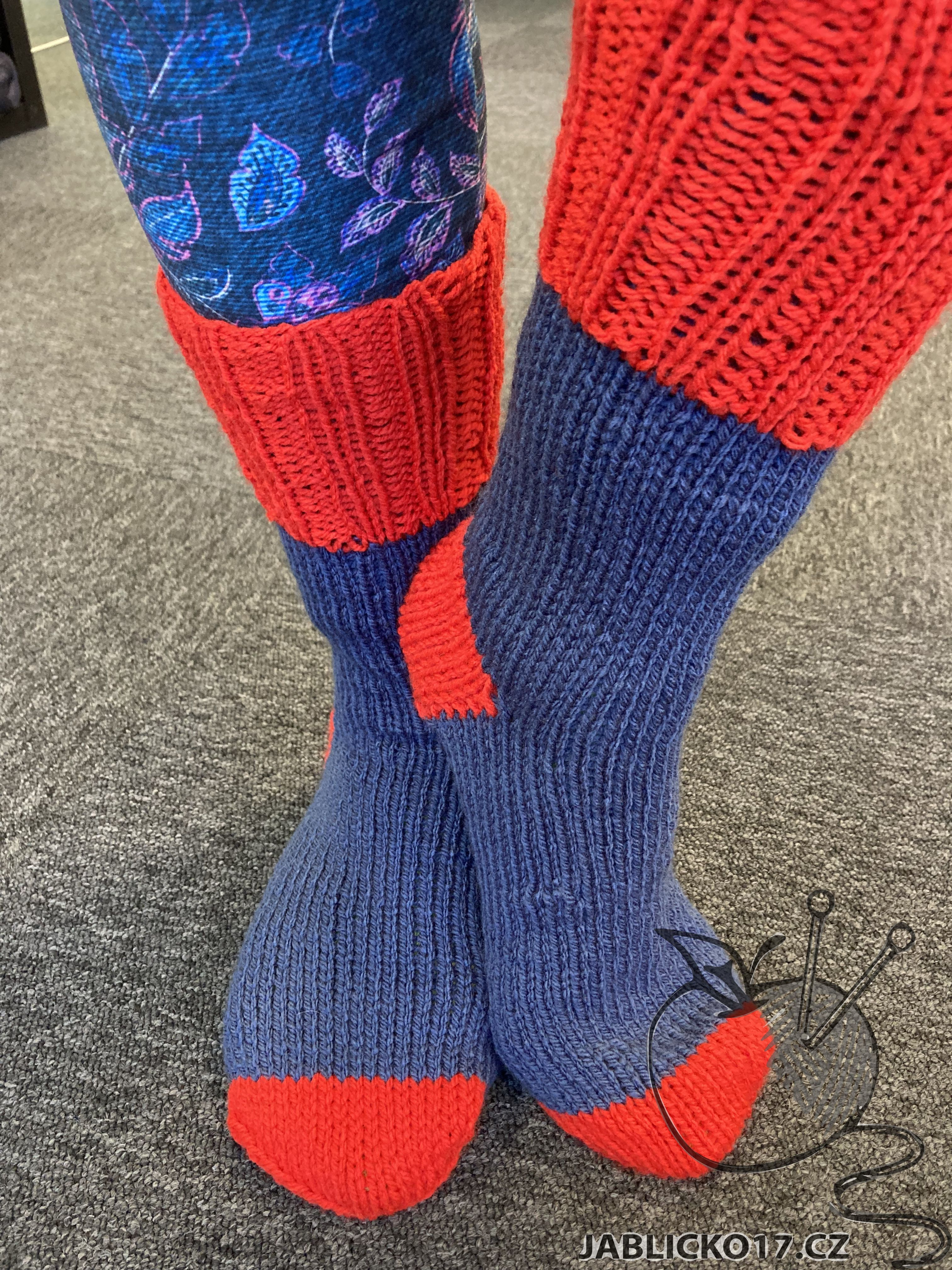 Ponožky barevné